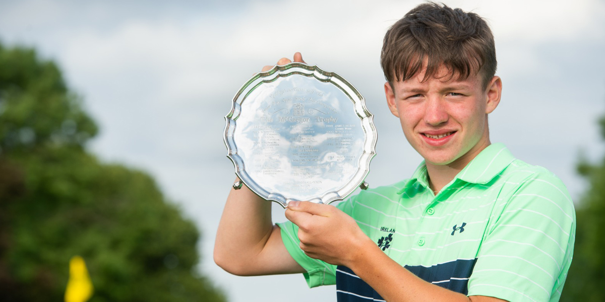 Ireland's Joshua Hill wins first international title at the McGregor Trophy