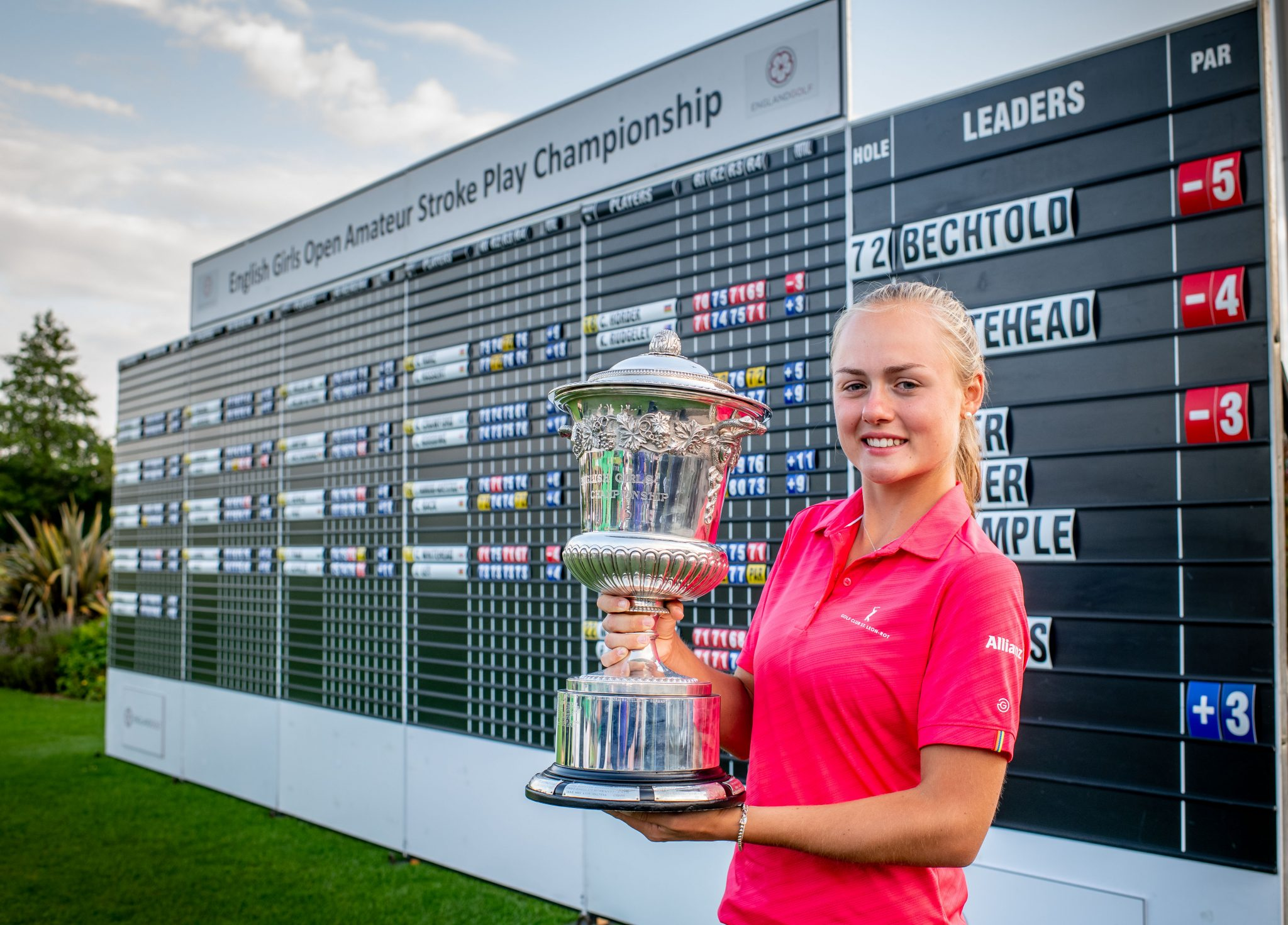 Germany's Marie takes home Girls' Open title