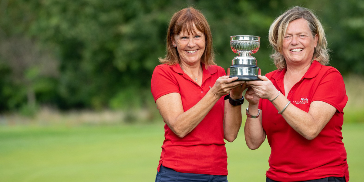 Lancashire take home the England Golf Trust trophy