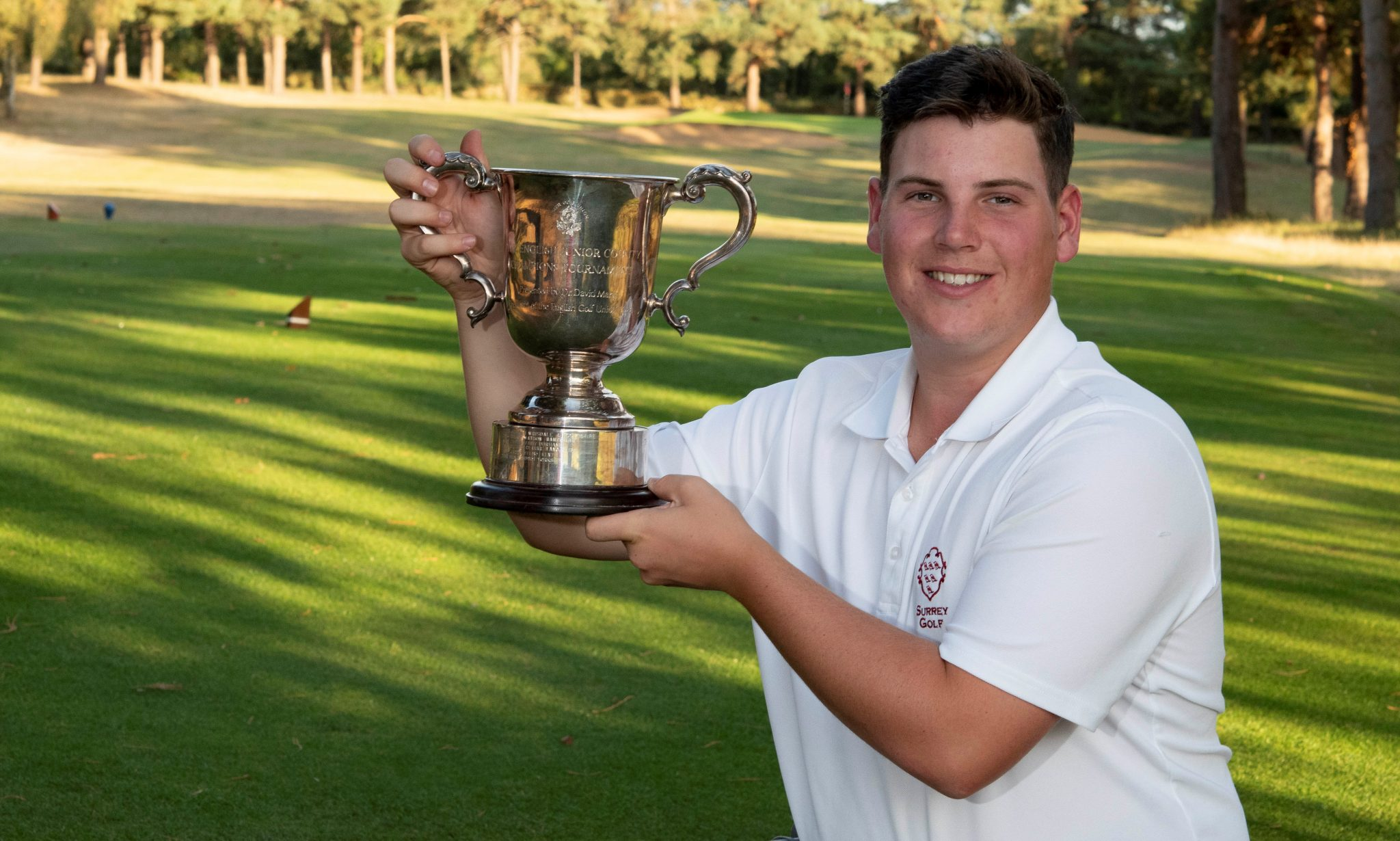 Ben Partridge claims Boys' County Champion of Champions title