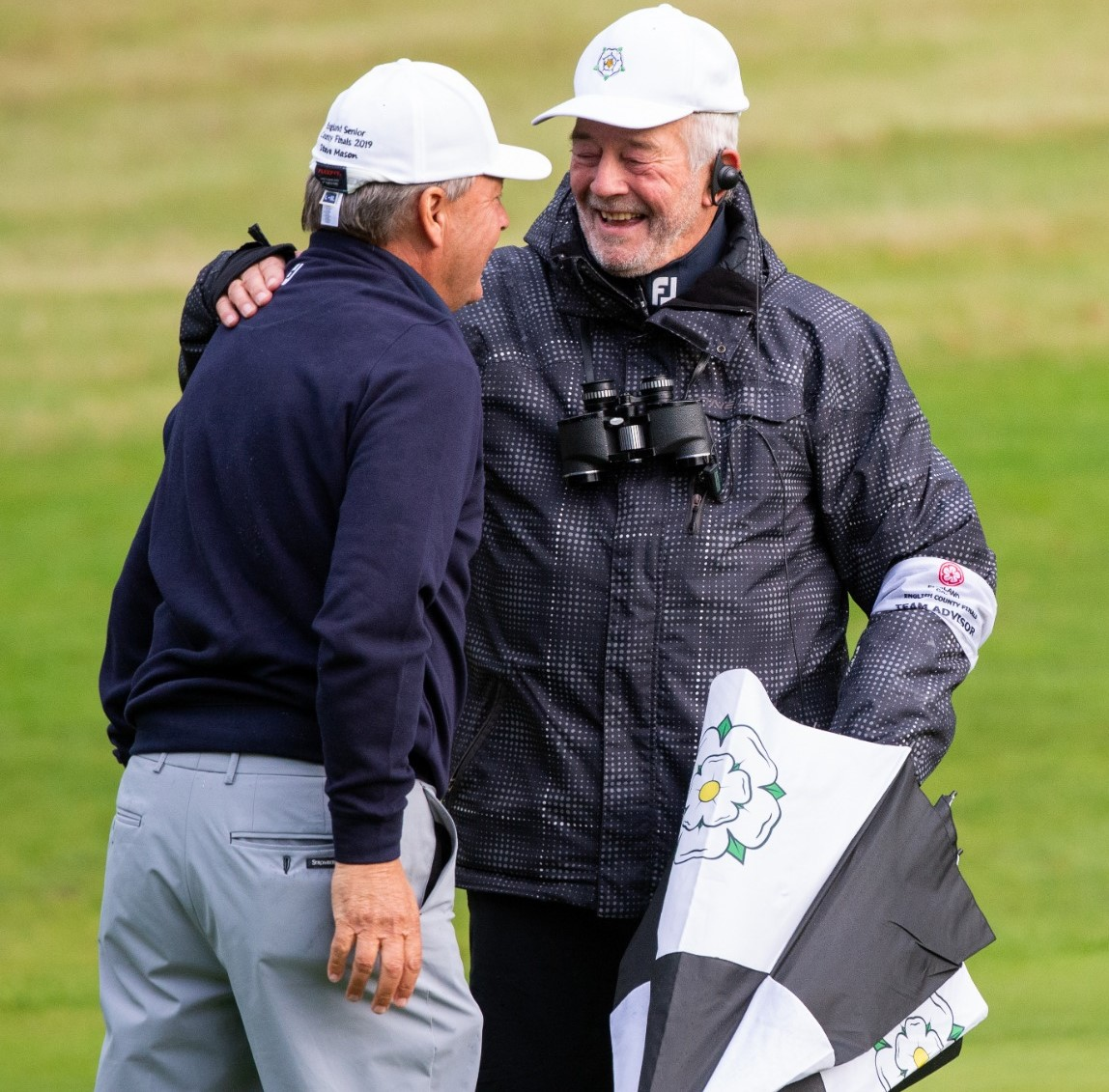 Yorkshire skipper hails the 'golden oldies' of English golf