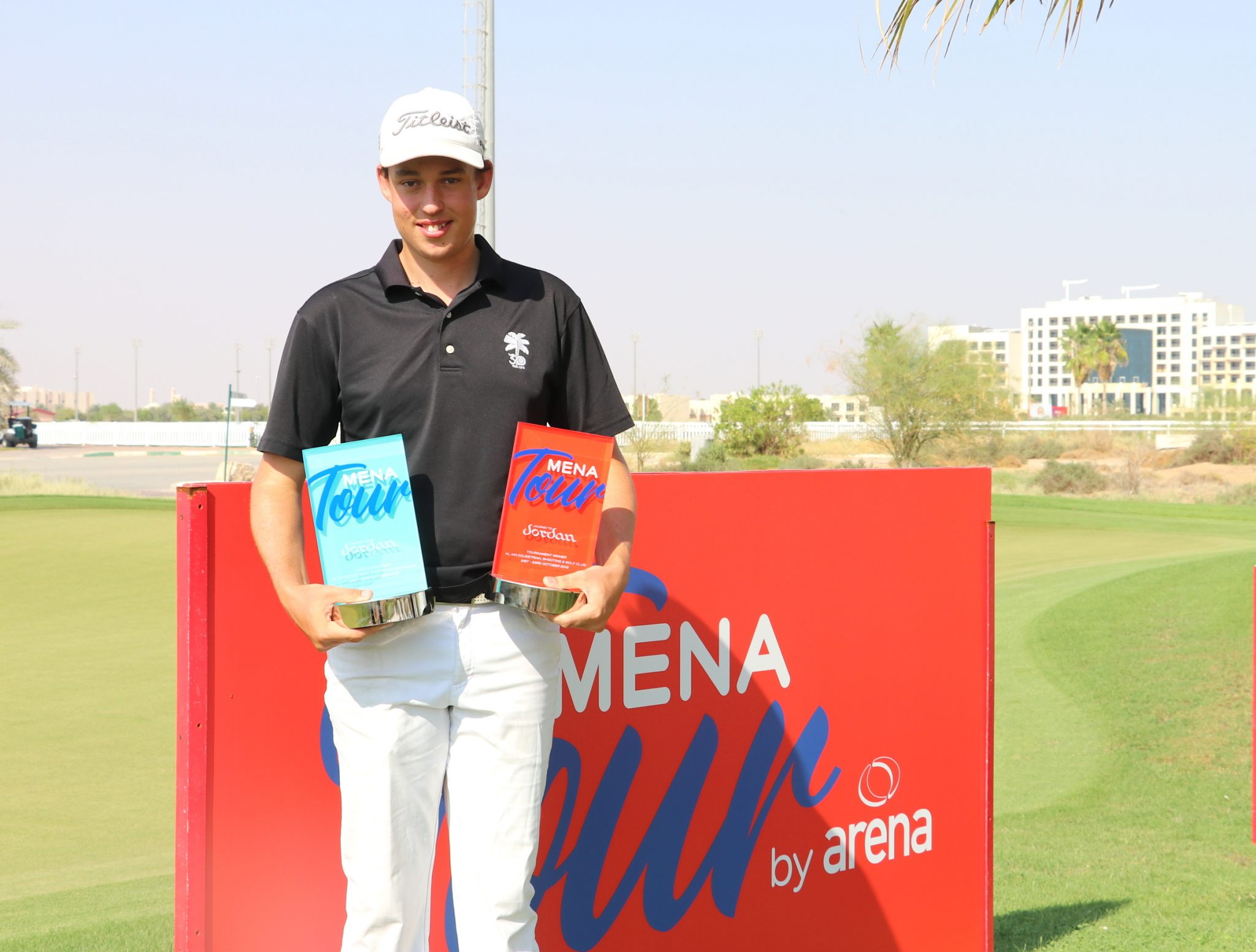 Hill's historic MENA Tour win rewrites the record books