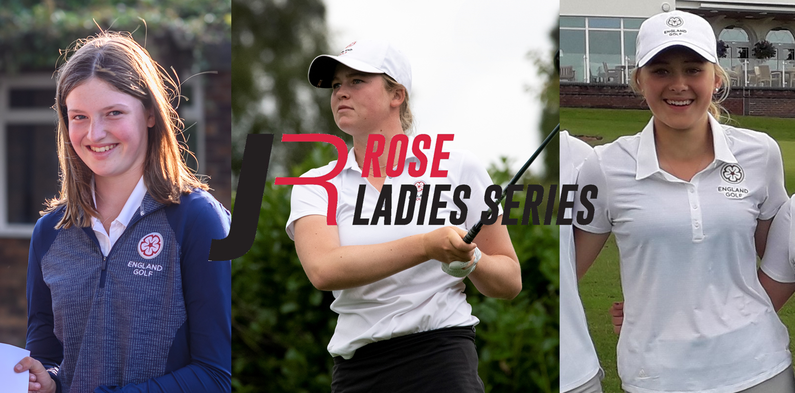 England Golf trio ready to blossom in Rose Ladies Series