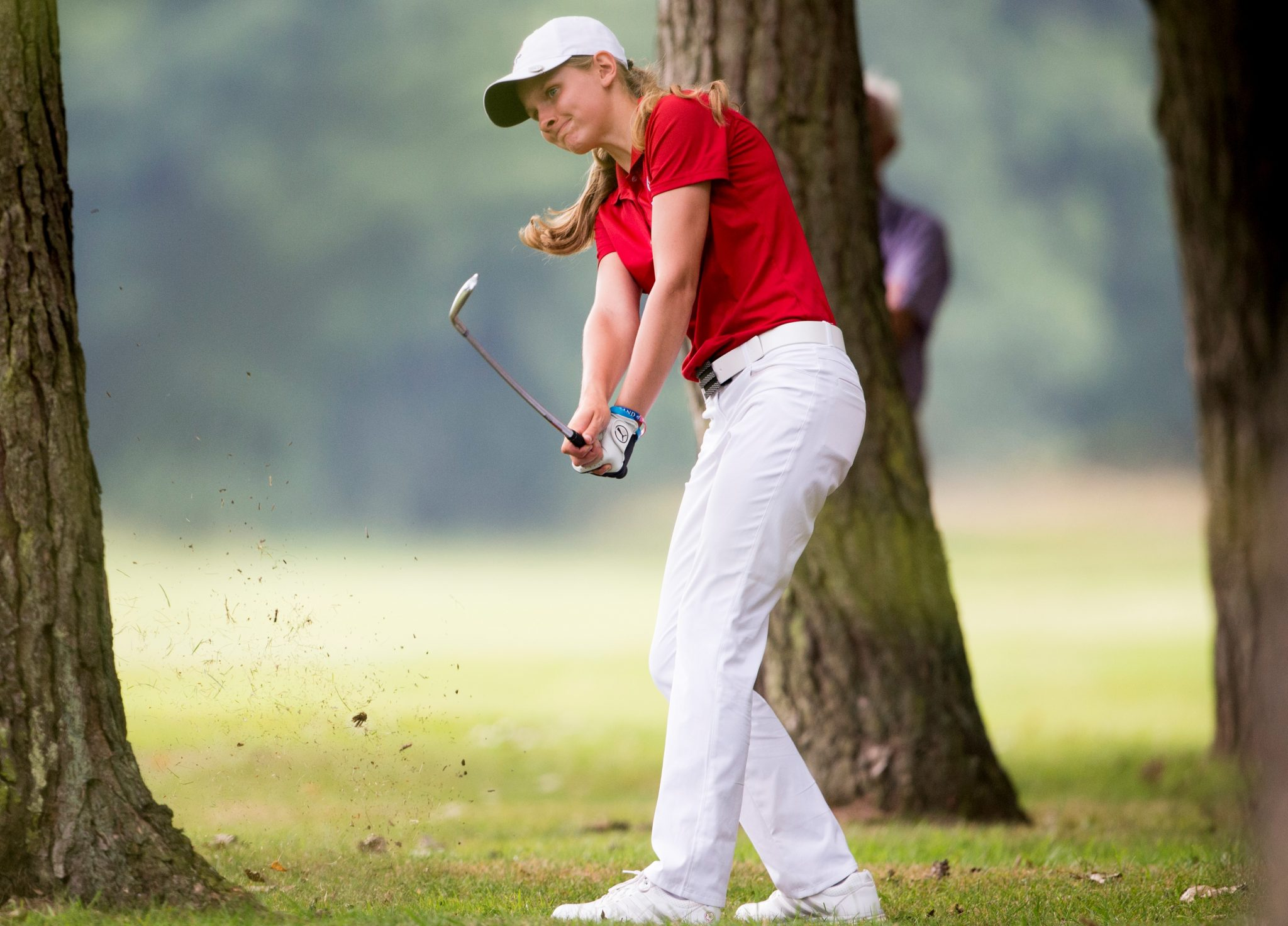 Ludlow Golf Club's Emily Price, who now plays for Kent State University