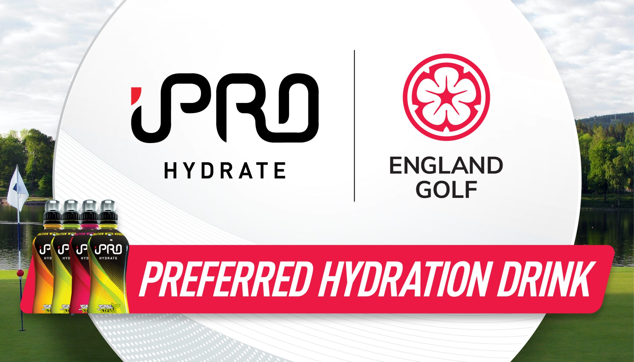 England Golf teams up with iPRO for healthy hydration