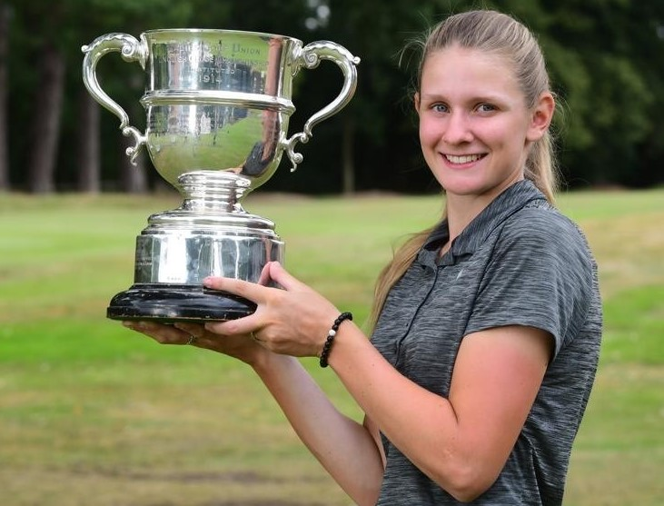 English Women's Amateur Championship: Price powers her way to victory