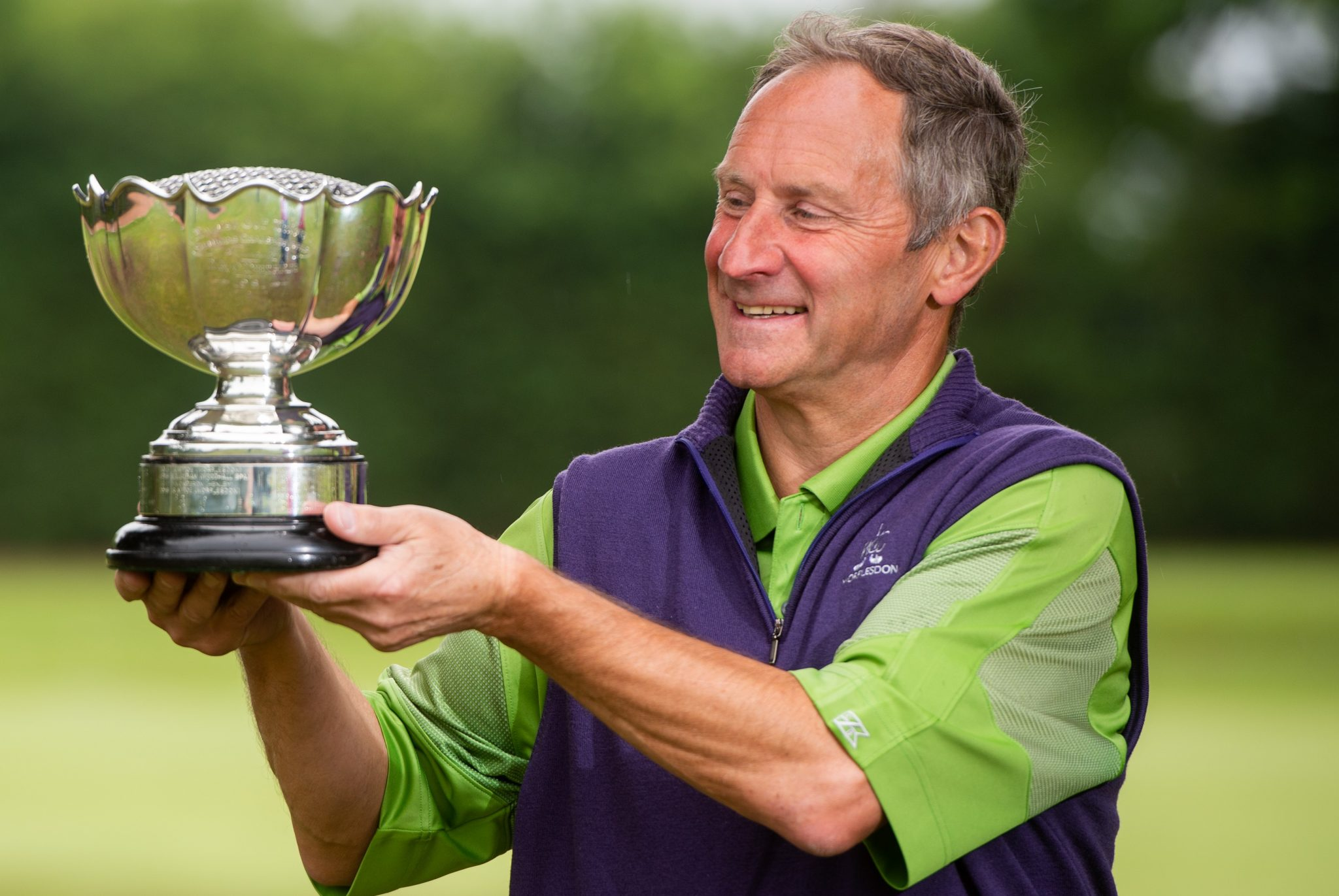 Defending English Seniors Champion Ian Attoe will be going for a hat-trick of successive wins at Woodhall Spa after his win in 2019 at Elsham and Holme Hall