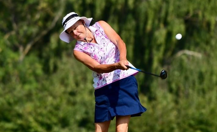 Senior Women's Stroke Play – Day Two: Rees leads and keeps it under her hat