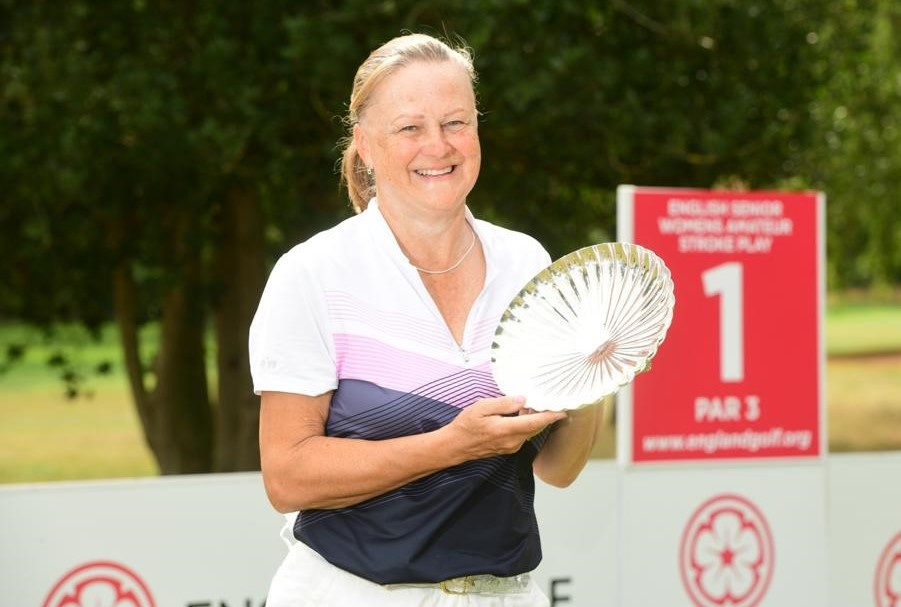 Senior Women's Stroke Play – Final Day: Champion Rees savours double delight