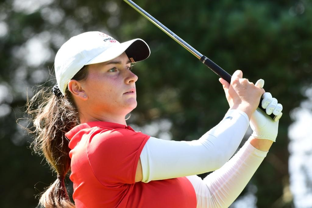 English Women S Amateur Championship Price Powers Her Way To Victory England Golf