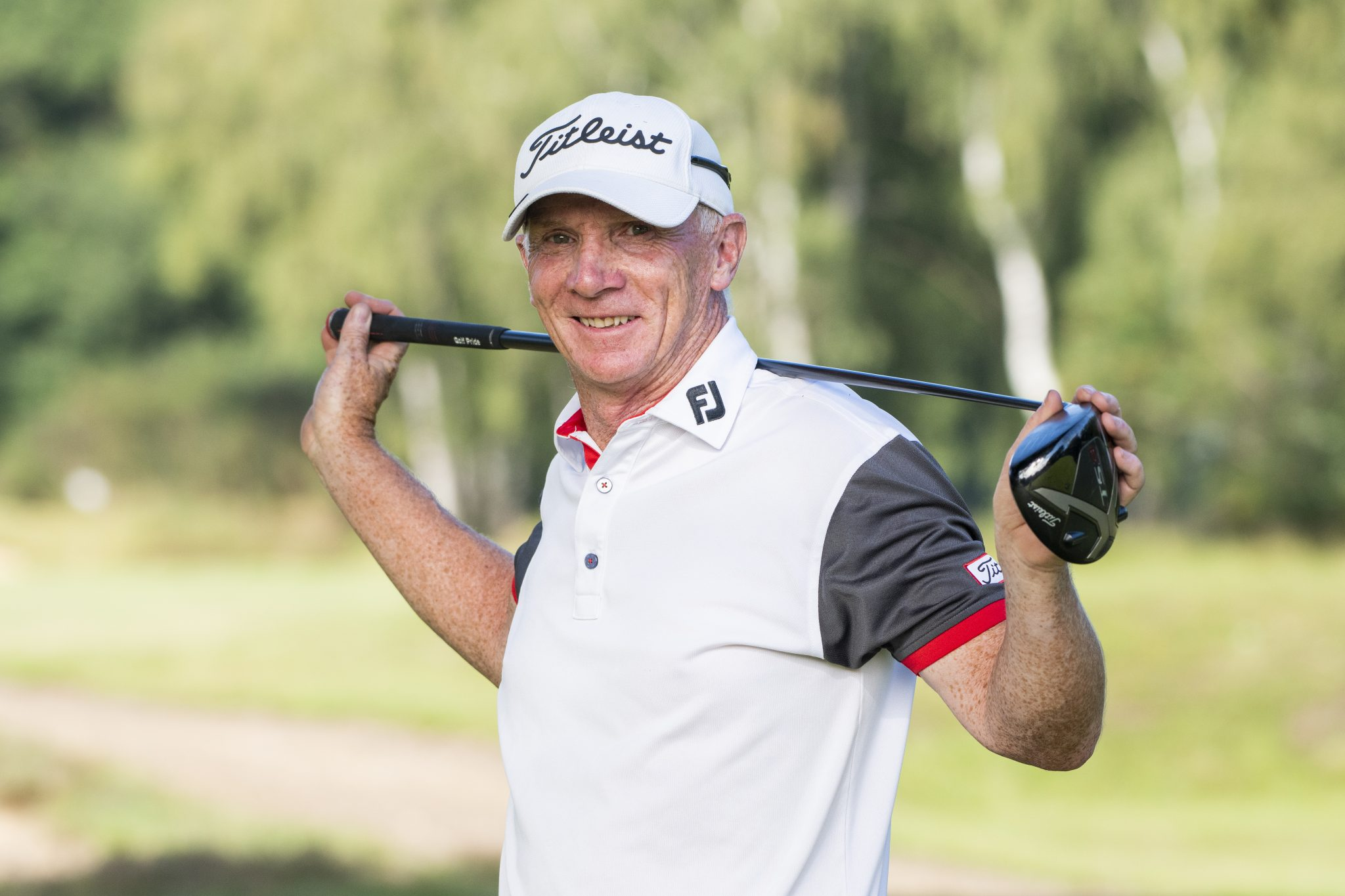 Woodhall Spa's Paul Wharton reached the last eight in the 2020 English Amateur Championship at Woodhall Spa, the home of England Golf.
