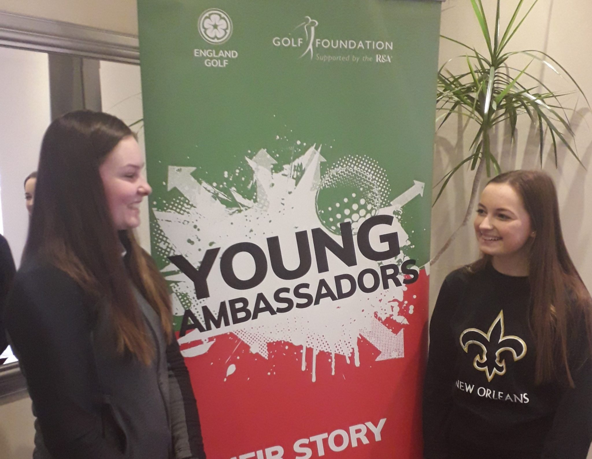 Young Ambassadors: Help us with 'Hero's Handshake'