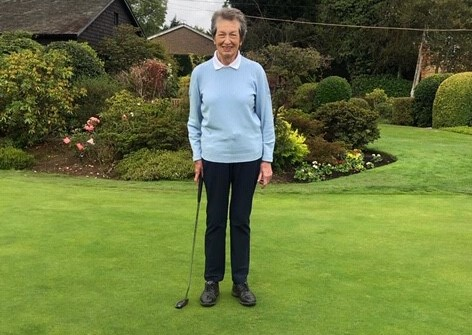 Former English Women's champ Jill wins club title – 57 years on from first victory!