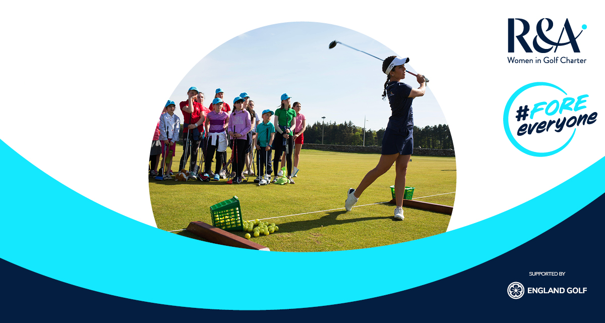 Women in Golf Charter: English clubs and counties unite #FOREeveryone