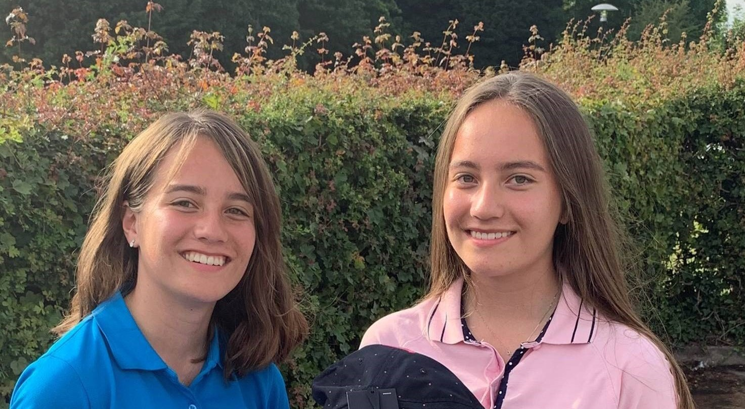Sisters Djalece and Xyra are first to be named 'Volunteers of the Month'