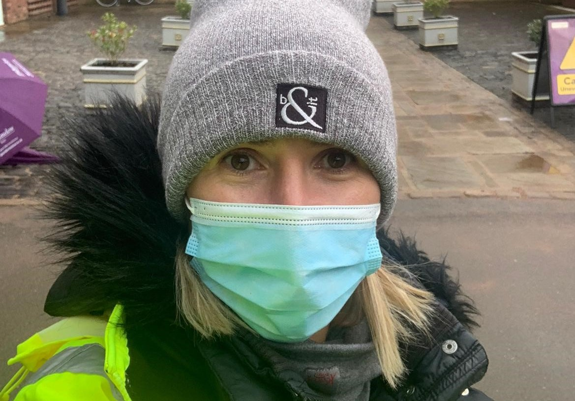 Sophie's choice: I'm proud to volunteer at vaccine centre – and still talk golf!