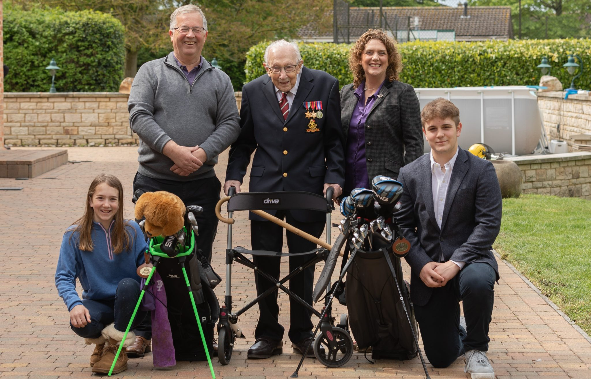 Captain Tom 100: Golfers to join fundraising fun