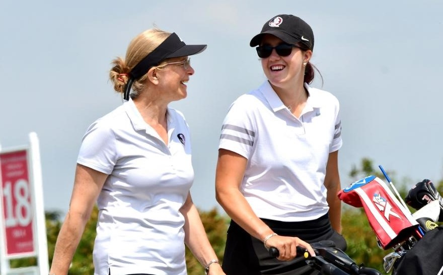 Senior Women's Stroke Play – Day One: Williamson leads the way