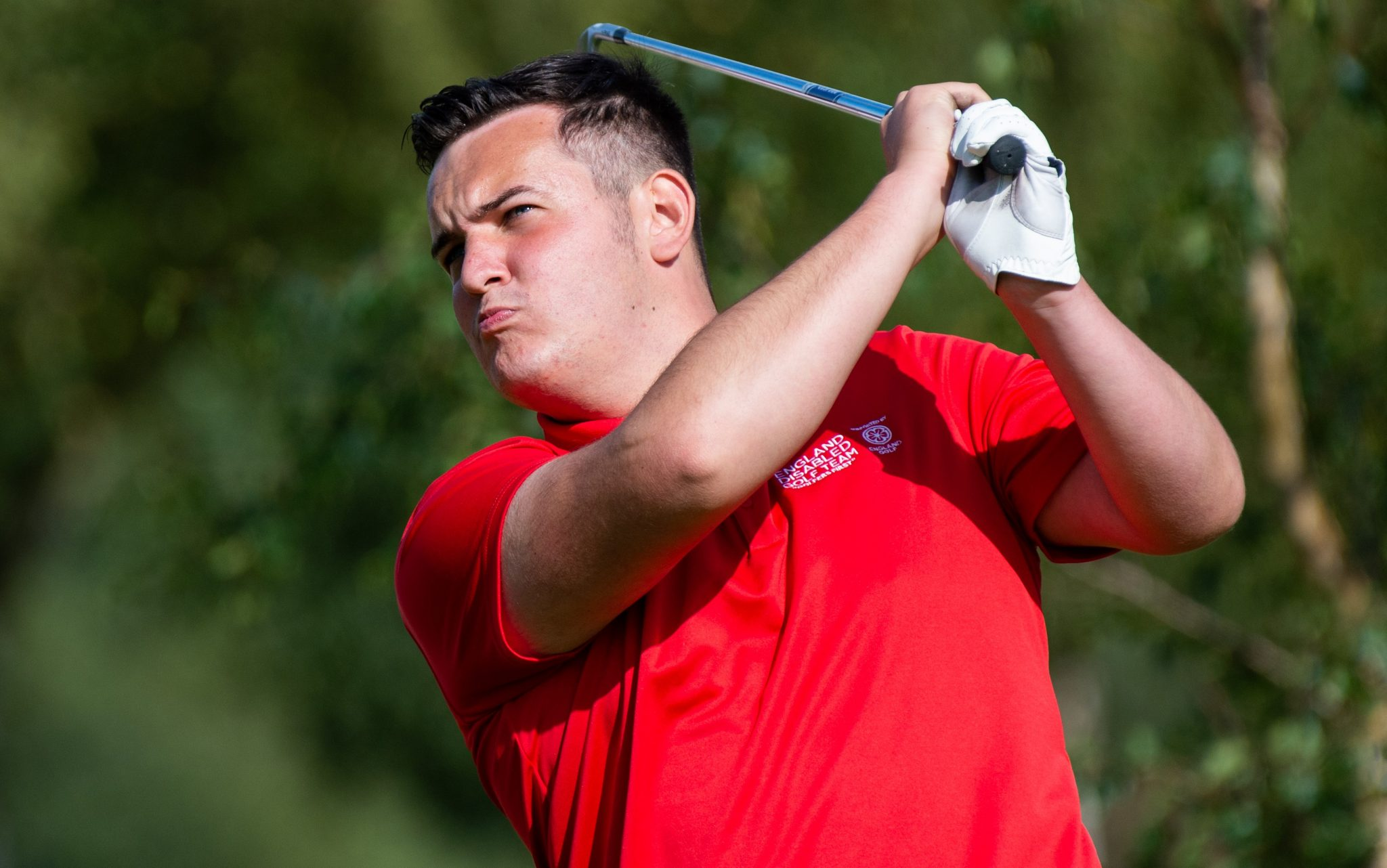 Bumper field go for glory at English Open for Golfers with a Disability