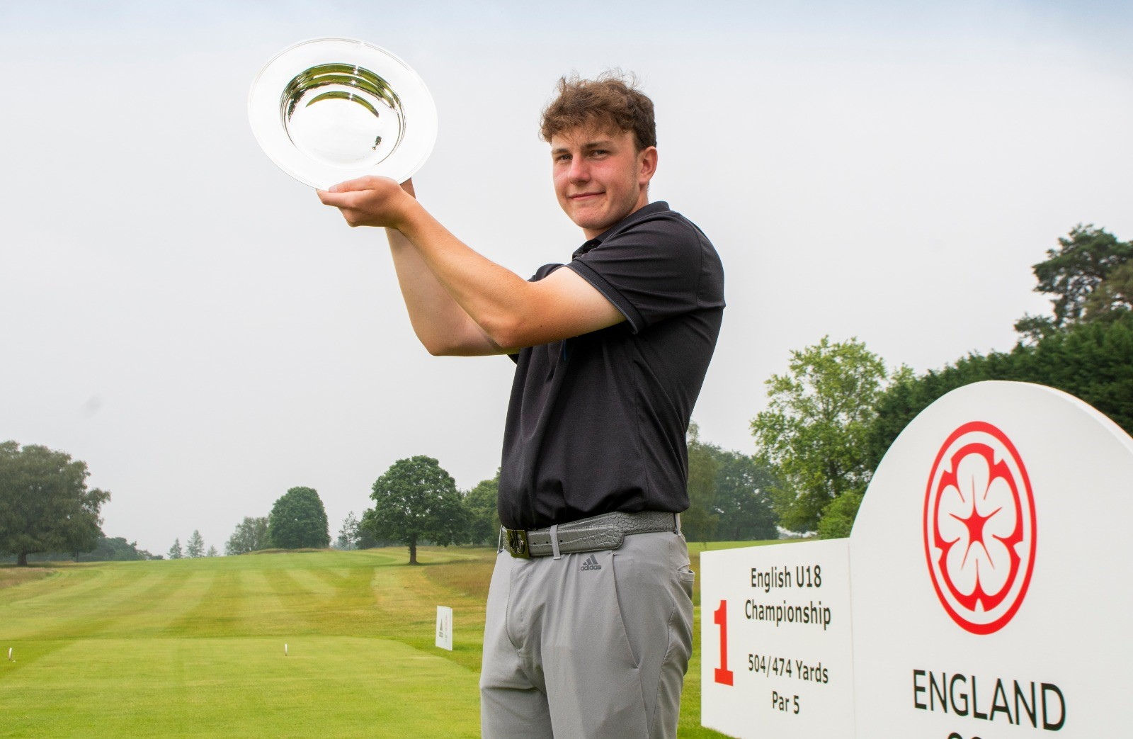 English Under 18 Championship: Forrester makes history with deserved victory