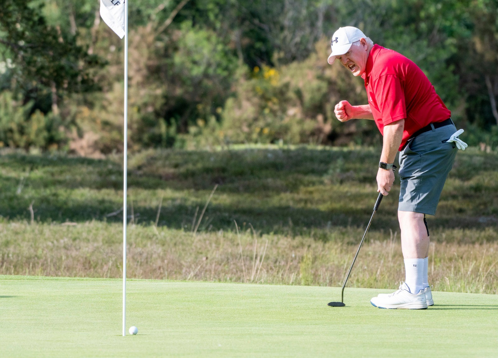 Senior Men's Amateur – Day One: White gets it right to lead by two