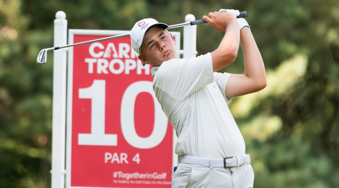 Carris Trophy – Day Two: Eagle-eyed Smith joins Fantinelli in share of lead
