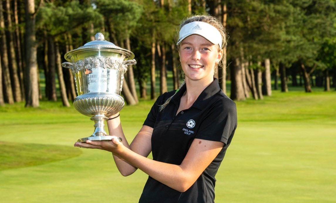 English Girls' Championship: Rhodes claims title with sparkling finish