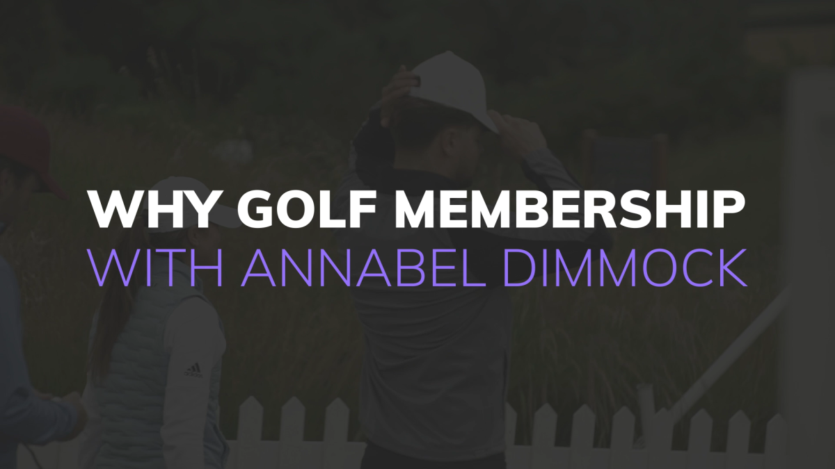 Annabel Dimmock reveals how golf club membership put her on the path to success