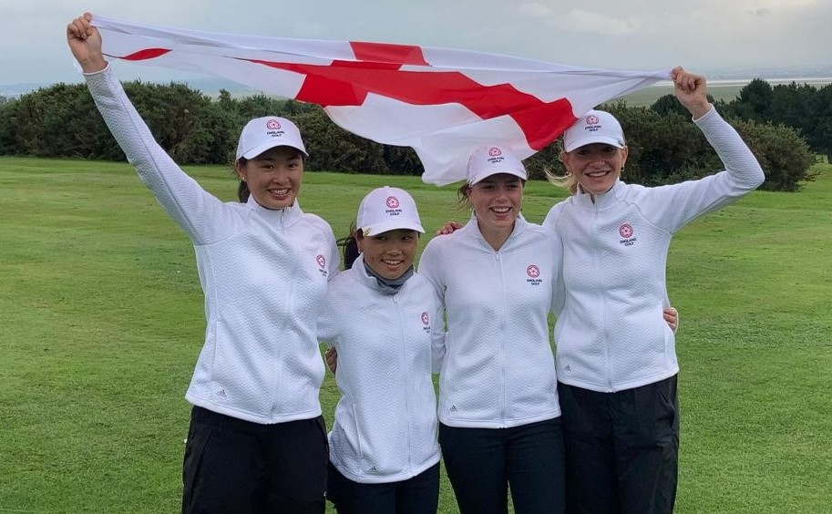 England's under 16 girls on a roll against the Swiss