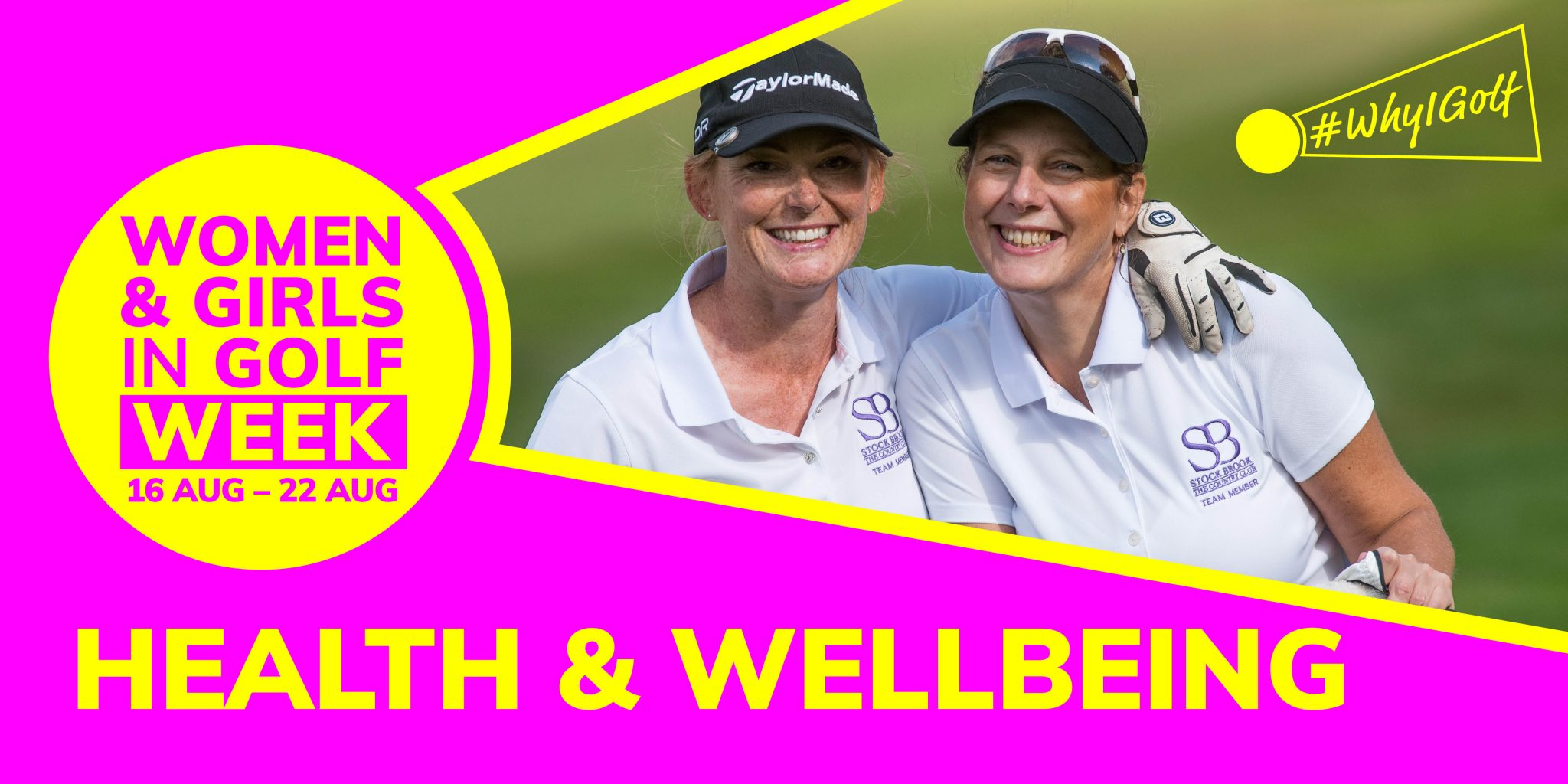 #WhyIGolf – Health and Wellbeing: Women in midlife can find fitness on fairways