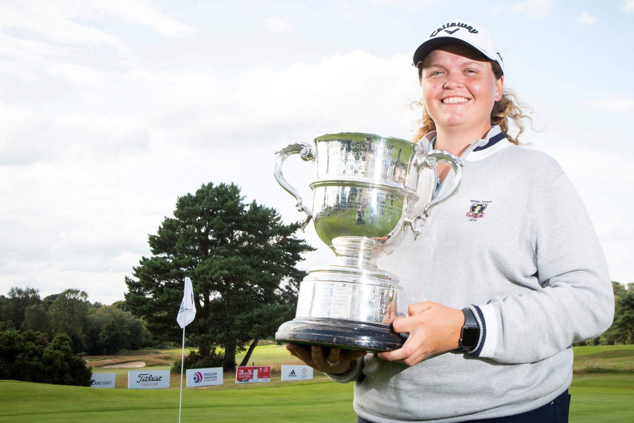 English Women's Amateur – Final: Rudgeley rides rollercoaster to lift trophy