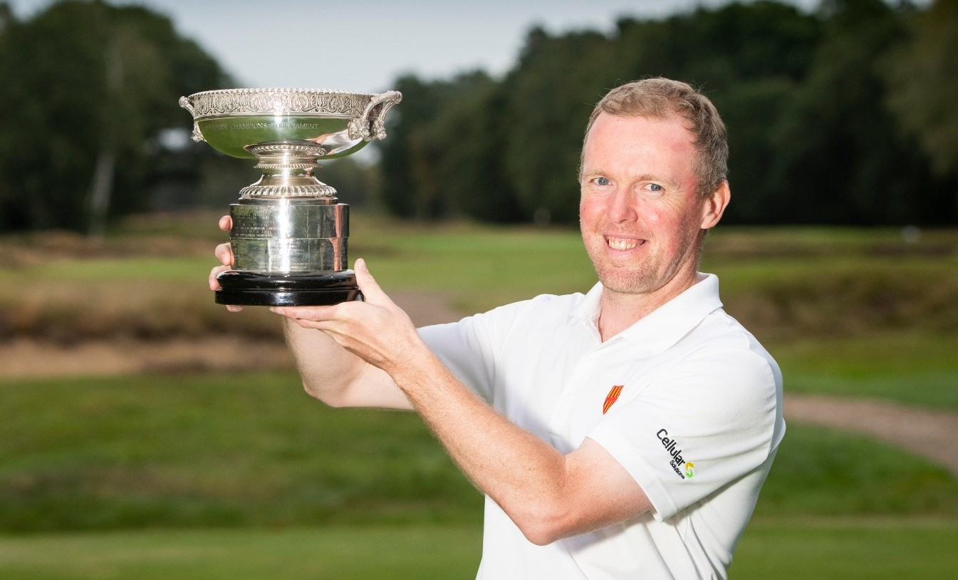 Minnikin storms to victory in Men's County Champion of Champions
