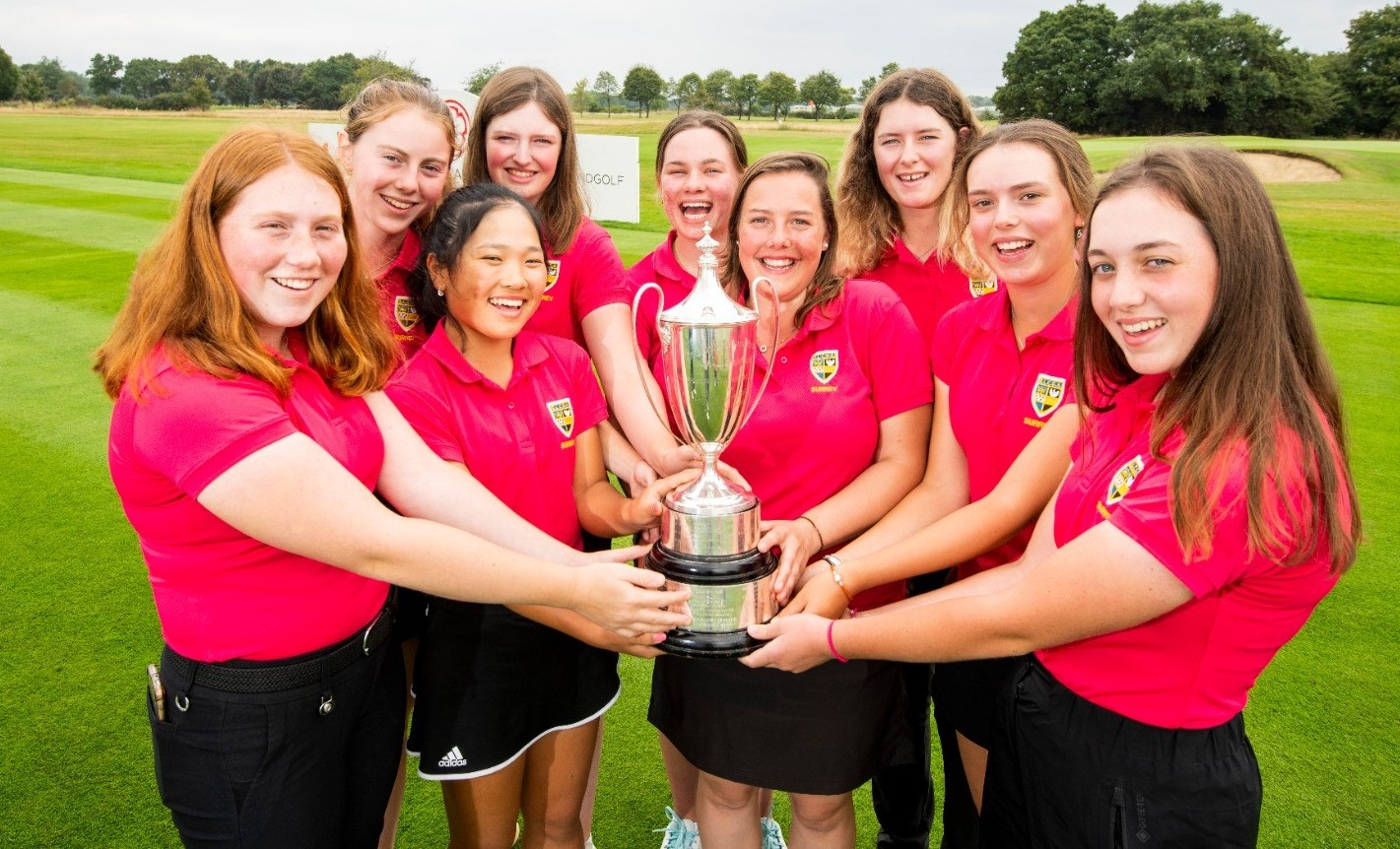 Women's County Finals: Super Surrey make it a clean sweep and take title