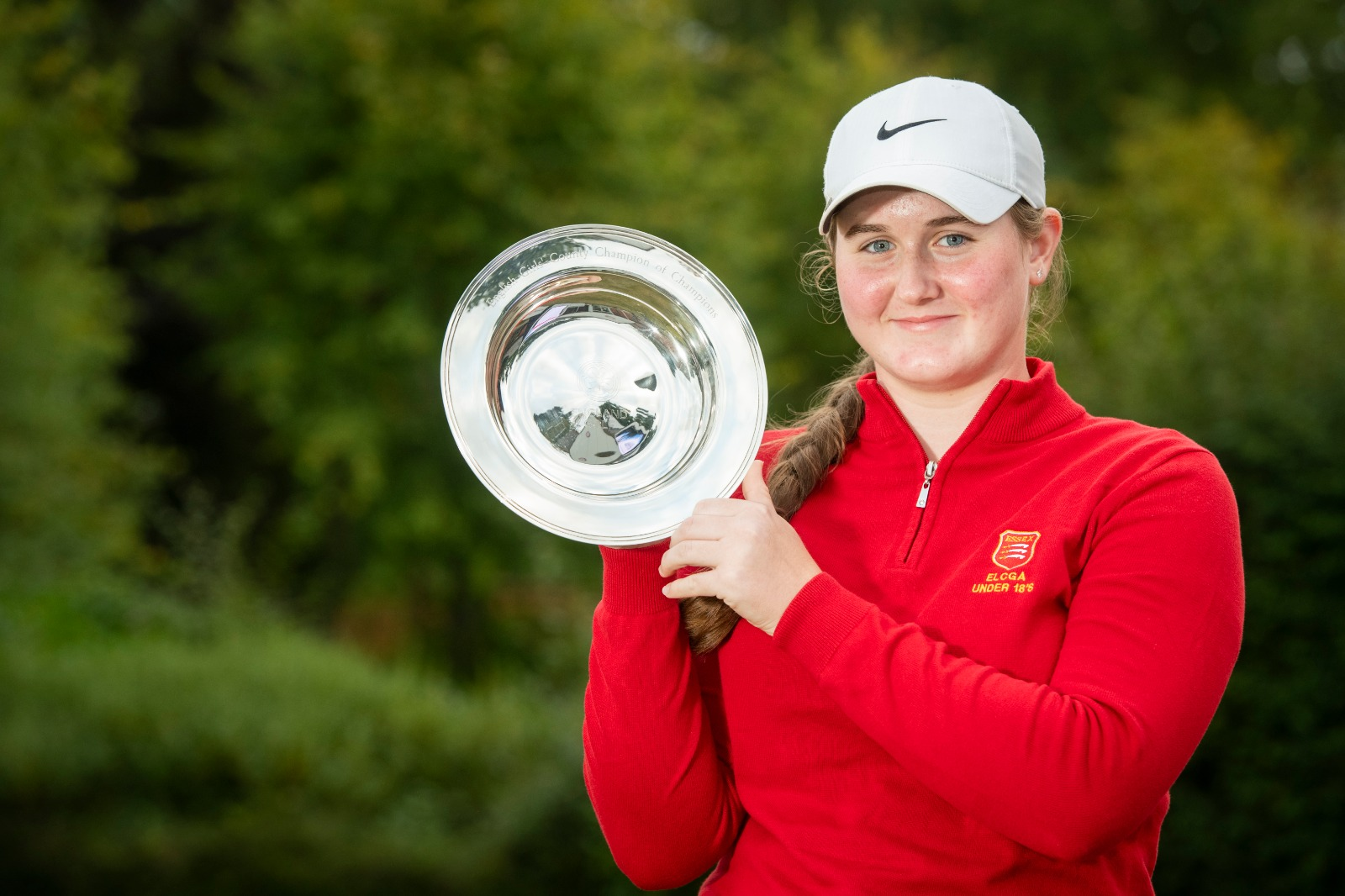 Amy Knotts crowned Girls' County Champion of Champions