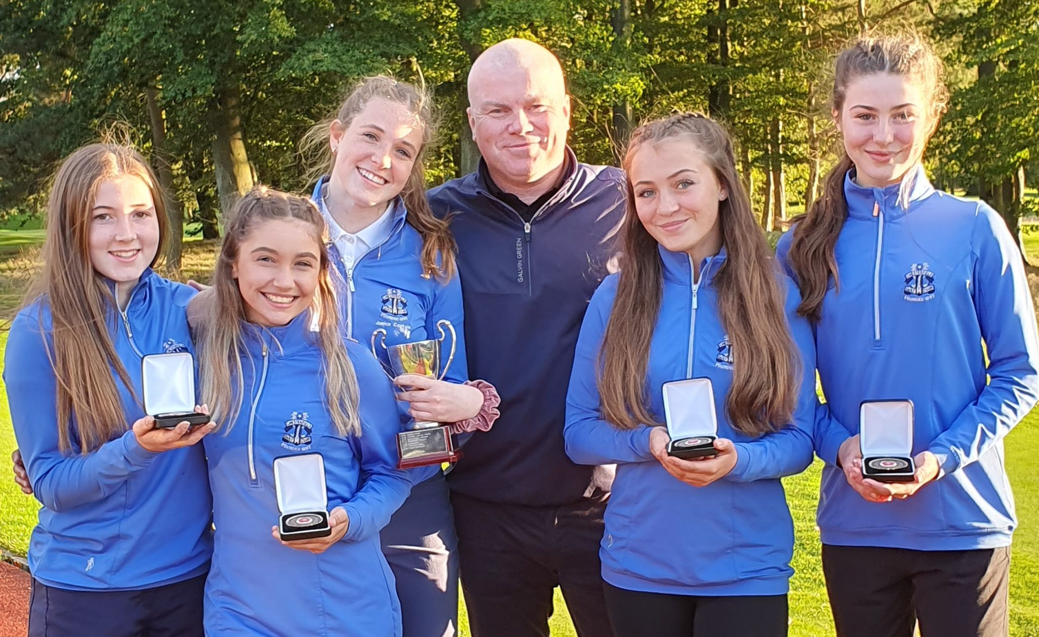 Chesterfield juniors display 'girl power' to claim unique win