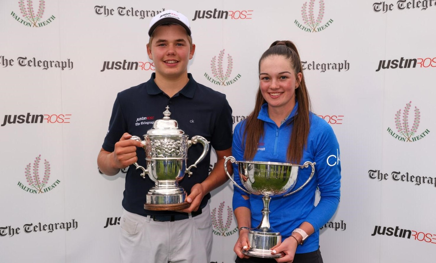 Smith and Gourley in full bloom to claim Justin Rose Telegraph titles