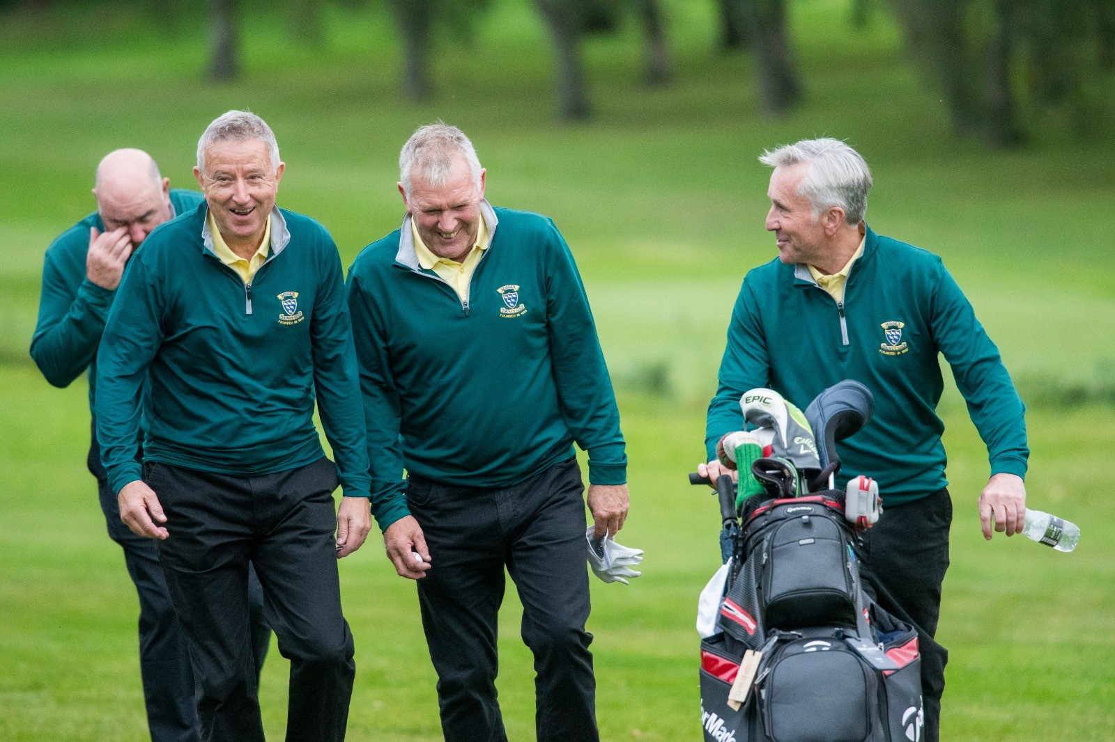 Senior Men's County Finals – Day One: Sussex lead the way