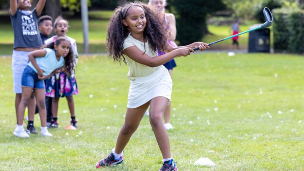 Golf Foundation contributes to social impacts of Birmingham city holiday scheme
